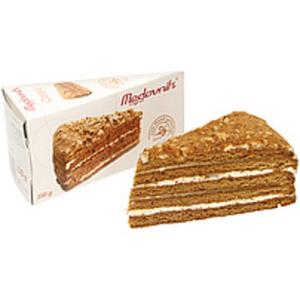 """Torte """"Medovnik"""" mit 45% Cremefüllung mit gezuckerte Kondens..."""