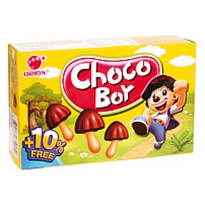"""Gebäck """"Chocoboy"""" teilweise überzogen von kakaohaltiger Fett..."""