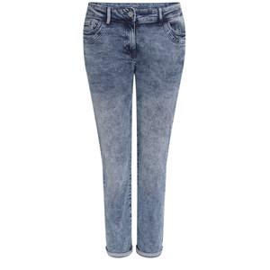 7/8 Damen Slim-Jeans im Moon-Washed-Look
