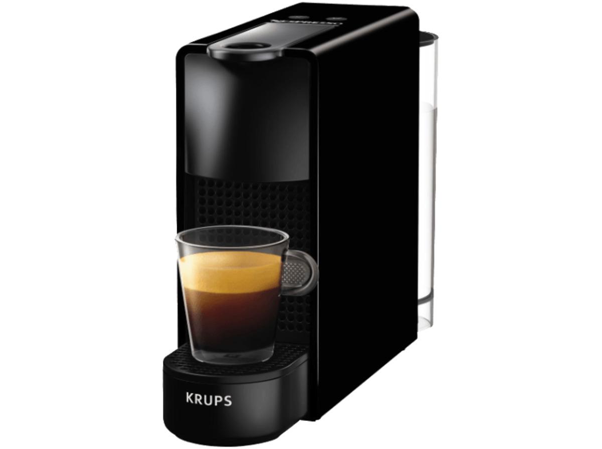 Bild 1 von KRUPS XN1108 Nespresso Essenza Mini Kapselmaschine, Schwarz