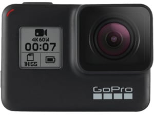 GOPRO HERO7 Black Action Cam, WLAN, GPS, Schwarz