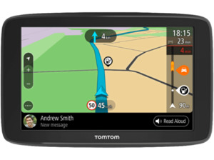 "TOMTOM GO Basic 6"", PKW Navigationsgerät, 6 Zoll, Kartenmaterial Europa, 48 Länder, Micro-SD Slot, TMC, inkl. Lifetime card updates"
