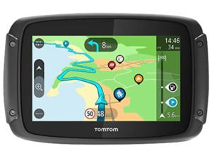 TOMTOM Rider 500 Europe, Motorrad, Motorroller Navigationsgerät, 4.3 Zoll, Kartenmaterial Europa, 49 Länder, Micro-SD Slot