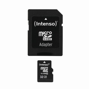 Intenso Micro SDHC Card 32 inkl.Adapter