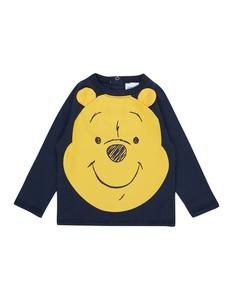 Newborn Shirt mit Winnie the Pooh-Print
