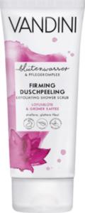 VANDINI Dusch-Peeling Firming Lotusblüte & Grüner Kaffee