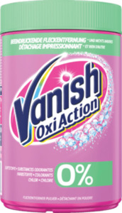 Vanish Fleckenentferner Pulver Oxi Action 0%