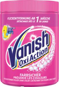 Vanish Fleckenentferner Pulver Oxi Action Pink