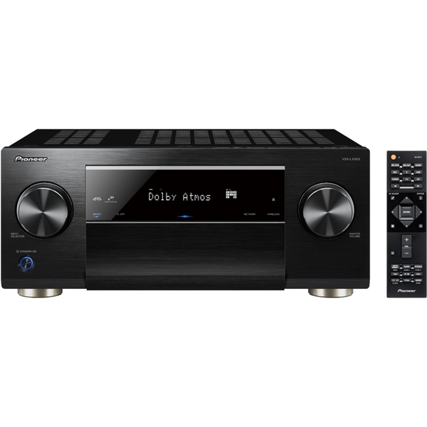 Pioneer VSX-LX503 Schwarz - 9.2 AV-Receiver (180 Watt/Kanal, Bluetooth, Wi-Fi, LAN, Dolby Atmos)