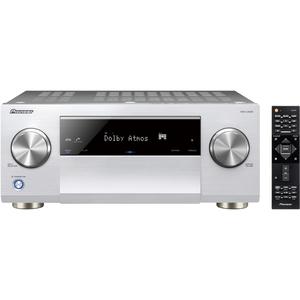 Pioneer VSX-LX503 Silber - 9.2 AV-Receiver (180 Watt/Kanal, Bluetooth, Wi-Fi, LAN, Dolby Atmos)