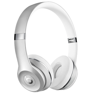 BEATS Solo3 Wireless Silber - On-Ear Wireless Kopfhörer (Bluetooth, Akku für bis zu 40 Std., Mikrofon)