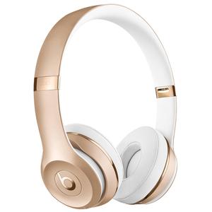 BEATS Solo3 Wireless Gold - On-Ear Wireless Kopfhörer (Bluetooth, Akku für bis zu 40 Std., Mikrofon)