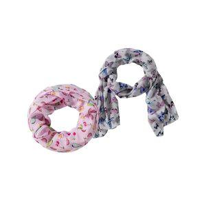 Damen-Schal mit hübschem Muster