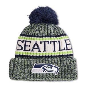 New Era Ne Nfl Sports Knit Seahawks - Unisex Winter Mützen