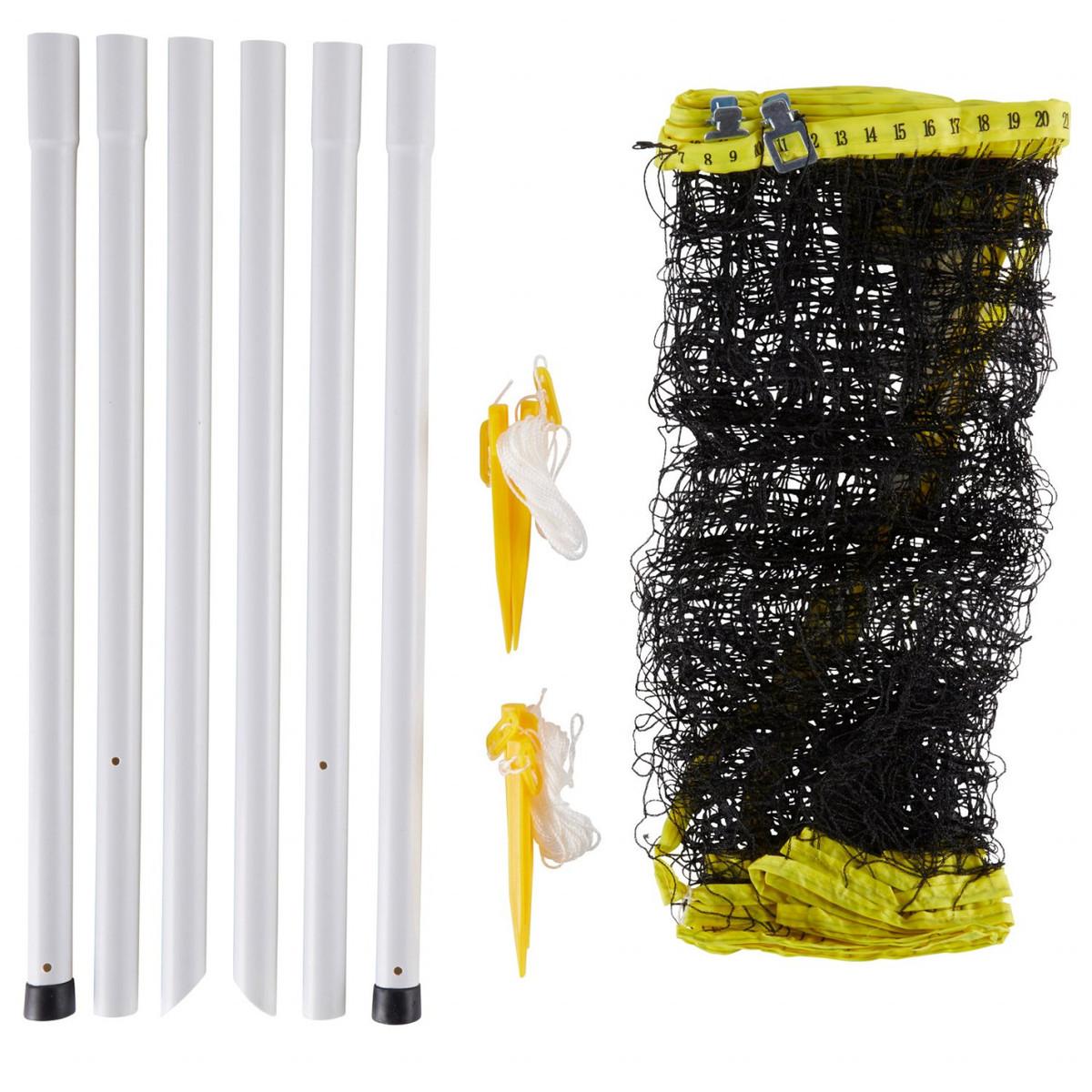 Bild 3 von Solex Badminton 4-Schläger-Set mit Netzgarnitur, Bällen & Tasche