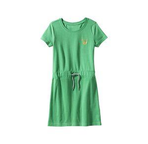 Kids Mädchen-Kleid mit Kordel