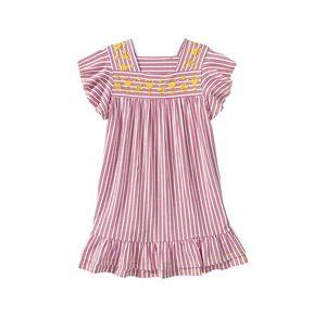 Kids Mädchen-Kleid mit Volant