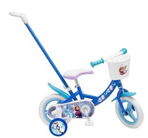 Toimsa Fahrrad 10 Zoll mit Stange Die Eiskönigin