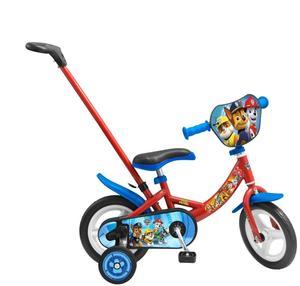 Toimsa Fahrrad 10 Zoll mit Stange Paw Patrol