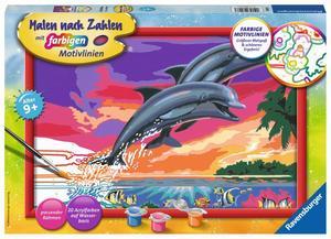 Ravensburger Malen nach Zahlen Welt der Delfine