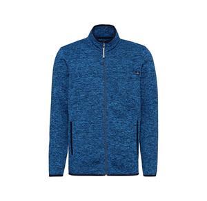 Herren-Strickfleece-Jacke mit seitlichen Eingrifftaschen
