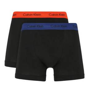 CALVIN KLEIN             Pants, 2er-Pack, Classic Fit, Logo-Bund, unifarben