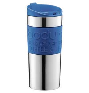 bodum             Travel Mug, Doppelwandig, Edelstahl, 0,35 l