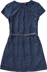 Kinder Kleid mit Gürtel Gr. 176 Mädchen Kinder