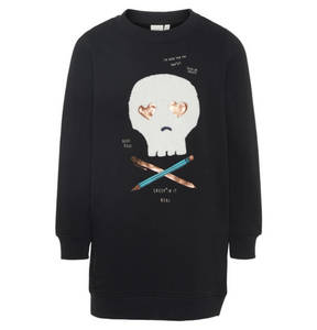 name it             Sweatshirt Tunika, bedruckt, für Mädchen