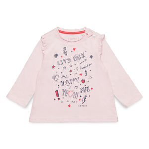 Esprit Baby Mädchen Sweatshirt mit Print