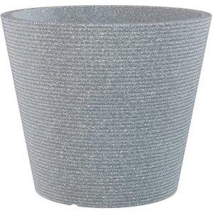Scheurich Pflanzgefäß Cana Ø 28,5 cm Stony Grey