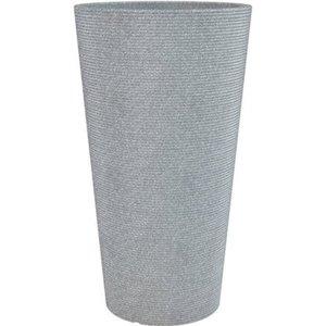 Scheurich Pflanzgefäß Cana High Ø 28,5 cm x 55 cm Stony Grey