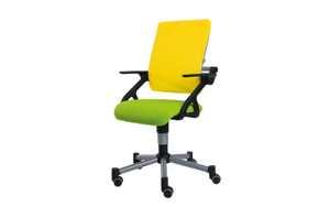 Paidi - Schreibtischstuhl Tio in limette/gelb