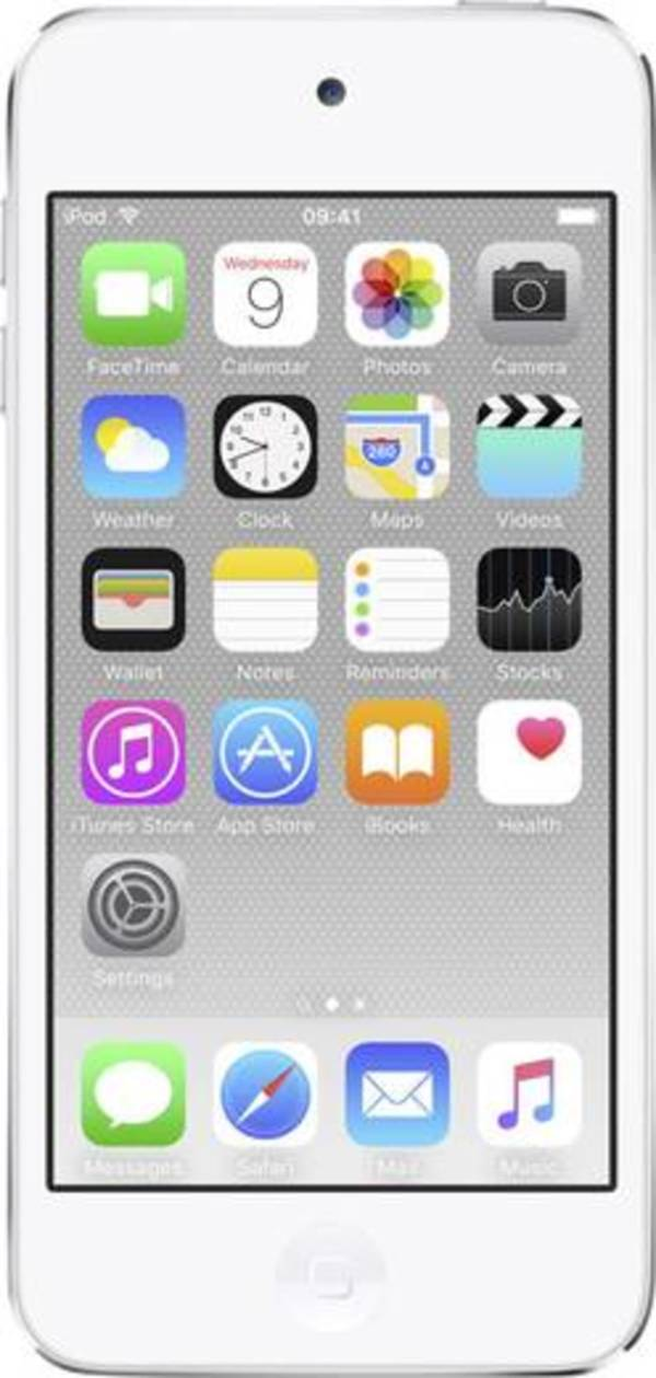Apple iPod touch 128 GB Silber