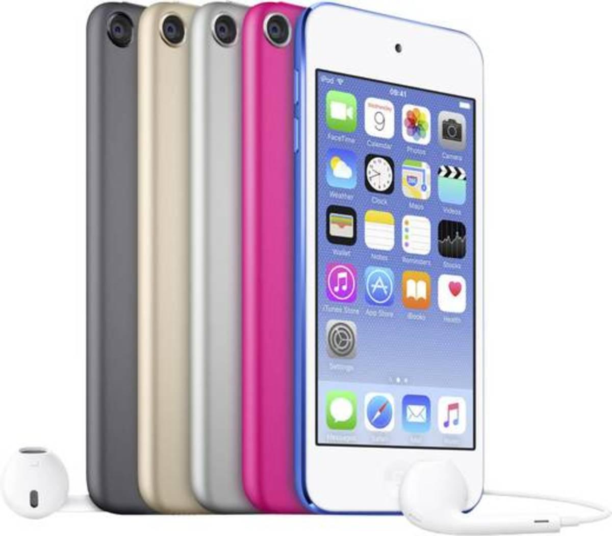 Bild 2 von Apple iPod touch 128 GB Silber