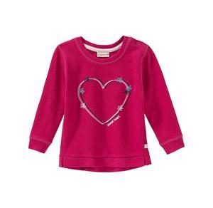 Liegelind Baby-Mädchen-Sweatshirt mit Herz-Stickerei