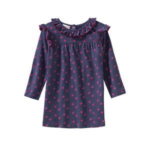 Liegelind Baby-Mädchen-Kleid mit Punkte-Muster