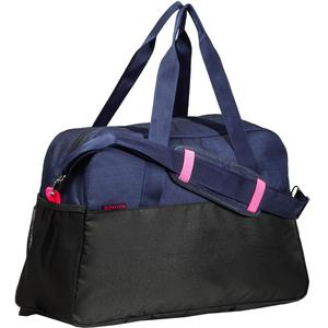 Sporttasche Premium Fitness 30 l blau/schwarz/rosa