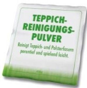 Teppich-Reinigungspulver
