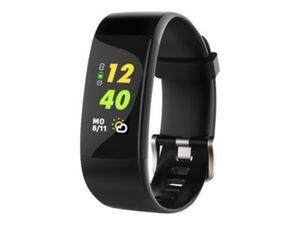SWISSTONE SW 650 Pro Fitnessarmband IP68 mit GPS-Tracker Messung Herzfreq. Schritte Distanz Kalorien Schlaf Uhr Wecker Benachrichti.