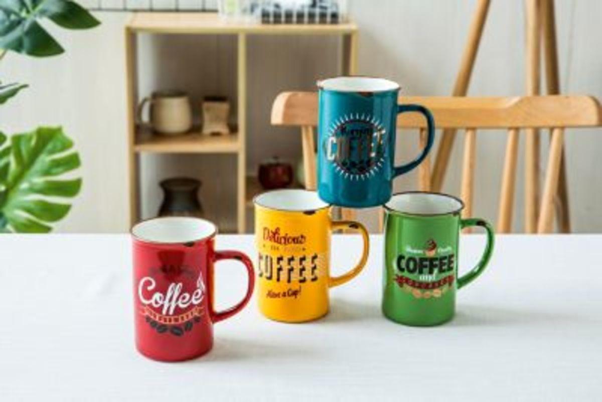 Bild 3 von Henkelbecher ''Kaffee'', 4er Set
