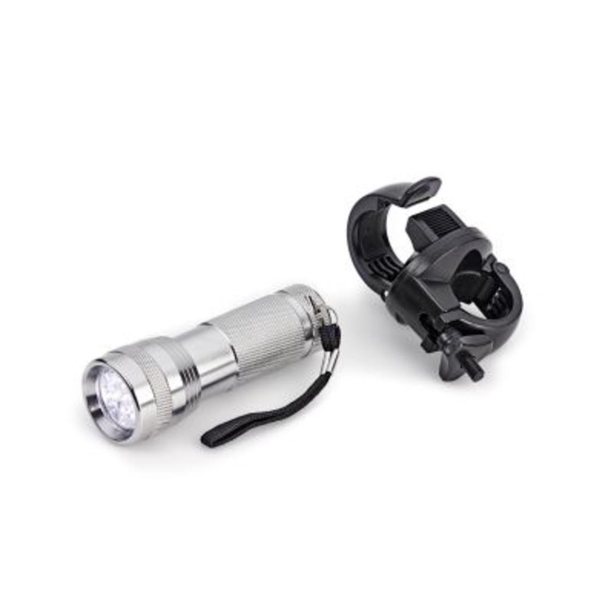 Bild 1 von Aluminium Taschenlampe mit Halterung