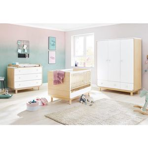 Pinolino   3-tlg. Babyzimmer Round breit groß