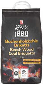 LET'S BBQ  Buchenholzkohle