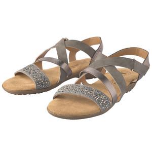 Damen Sandalen mit Ziersteinchen