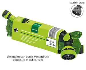GARDENLINE®  Flexibler Gartenschlauch mit Multifunktionsspritze