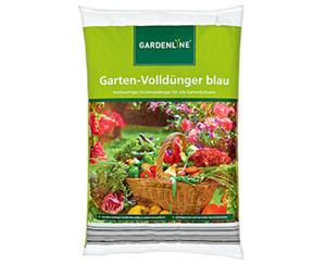 GARDENLINE®  Garten-Volldünger blau