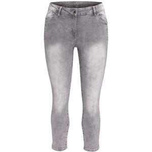 7/8 Damen Slim-Jeans mit heller Waschung