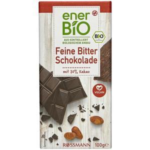 enerBiO Feine Bitter Schokolade