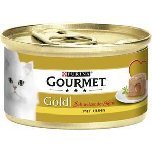 Gourmet Gold Schmelzender Kern mit Huhn 0.58 EUR/100 g (12 x 85.00g)